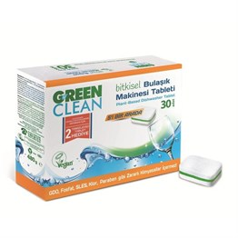 U GREEN CLEAN BULAŞIK MAKİNESİ TABLET 30LU
